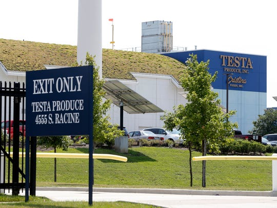 Testa Produce Inc. plant on the South Side of Chicago.