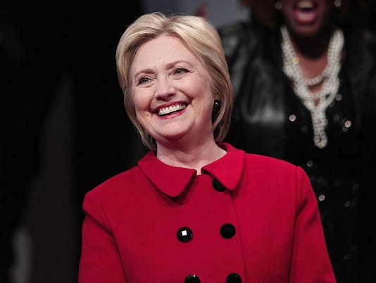 Hillary Clinton Visits Detroit Area Churches Ahead Of Michigan Primary