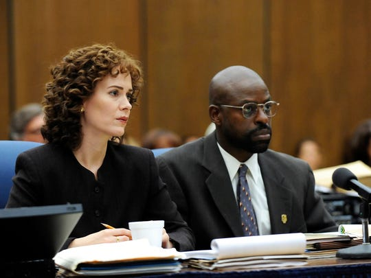 Sarah Paulson and Sterling K. Brown both earned Golden Globes nominations for their roles as O.J. Simpson prosecutors Marcia Clark and Christopher Darden.