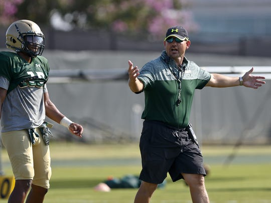 UAB football coach Bill Clark will lead the Blazers back onto the field in 2017, after a two-season hiatus.