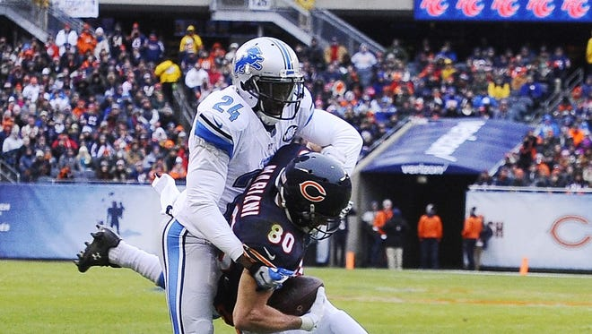 CB Nevin Lawson - Lawson made major improvements in coverage in his first full season as a starter, breaking up nine throws while trimming penalties. He was hit with just five pass interference calls and one holding call. GRADE: B-