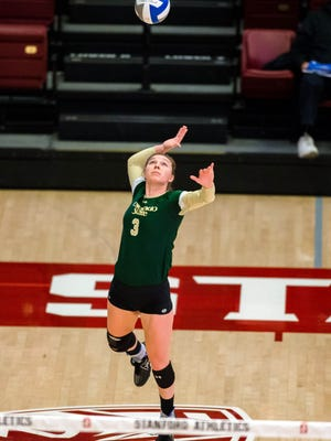 CSU's Adrianna Culbert has been named an AVCA All-Region player for the third year in a row.