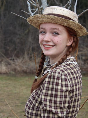 """Manitowoc Lutheran High School will present """"Anne of Green Gables"""" at 7 p.m. March 18-19 and 2 p.m. March 20. The role of Anne Shirley is played by Hailey Dick."""
