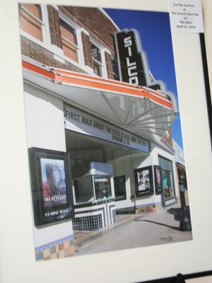 The Silco Theater grand opening will feature a live auction on Thursday.