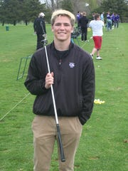 Lakeview's Mason Evans is playing golf with one arm