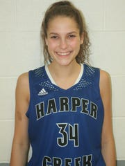 Harper Creek's Faith Hayes