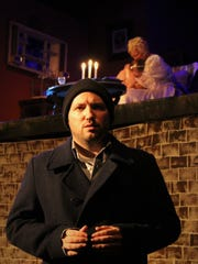 Sean McClure as Tom with Sarah Gantzer as Laura and