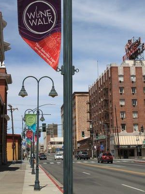 Regular wine walks are held in downtown Reno.