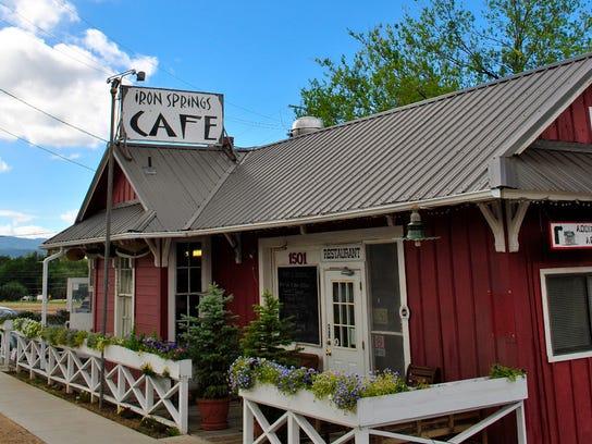 Iron Springs Cafe Dinner Menu