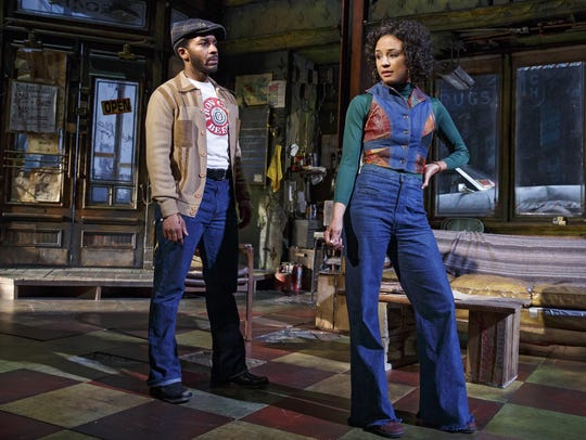 "Holland and Carra Patterson in ""Jitney."""