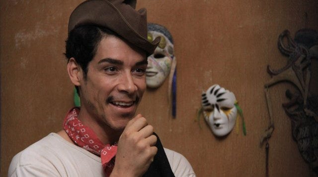 Óscar Jaenada plays the complex man who was Mexico's most beloved and iconic comedian.