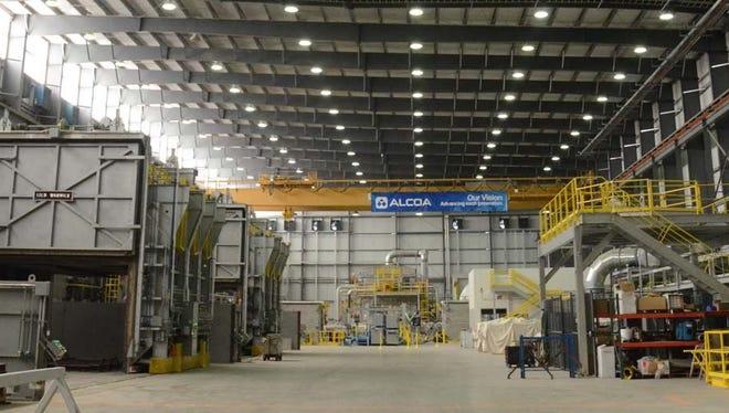 Alcoa's new $100M plant will create 75 jobs.