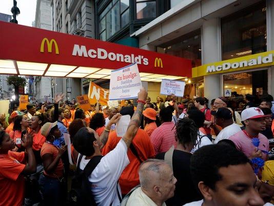 AP Fast Food Protests