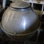 Reconditioned antique milker one of oldest around