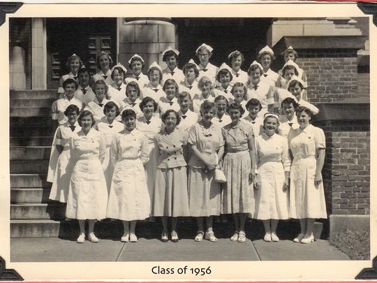 UVM College of Nursing Class of 1956.
