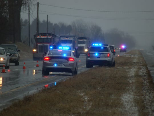 The truck driver involved in the January crash on U.S. 20 in York Township has been arrested and charged with vehicular homicide.