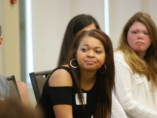 Fremont Ross High School Senior Amari Bulger hopes to blaze a new path as dental hygienist when she heads to Youngstown State University in the fall. Bulger was awarded a $1,000 scholarship by the Sandusky County Positive People.