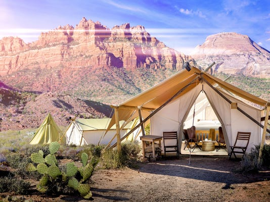 Glamping: 10 spots to camp luxuriously in the USA