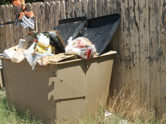 Dumpsters and recycling trailers are frequent targets of abuse. Disposing of trash improperly creates hazards and expense for both the city and county.