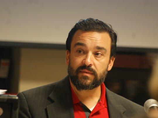 Deming Public Schools Superintendent Arsenio Romero,