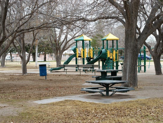 Girl Scout Park, located on W. Ash Street between Granite