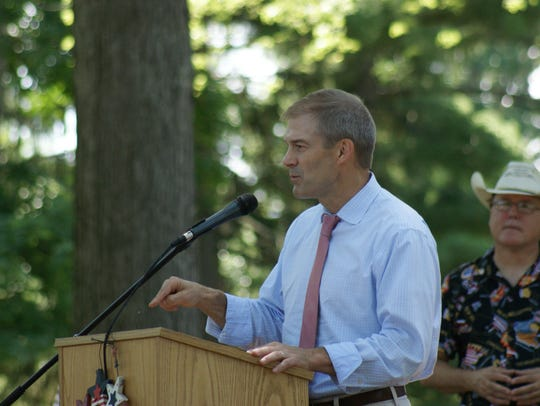 Rep. Jim Jordan, R-Urbana,talks about the importance
