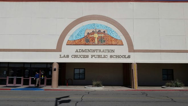The Las Cruces Public Schools administration building is seen at 505 S. Main St., Las Cruces.