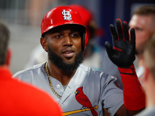 The Cardinals' Marcell Ozuna had off-season surgery on his right shoulder.