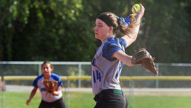 Poudre High School's Katie McCarthy will sign to play at Belmont Abbey in North Carolina.