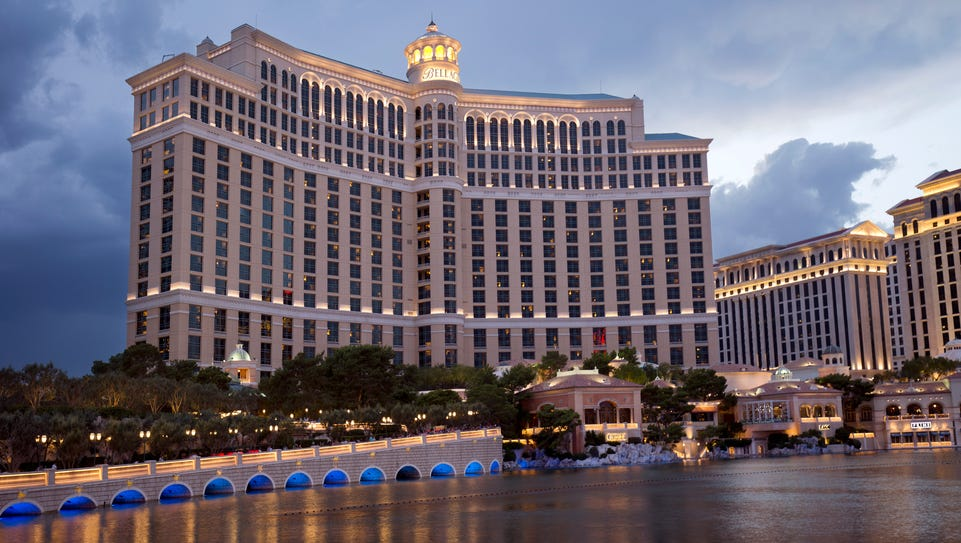 The Bellagio Las Vegas offers 3,933 rooms and suites,