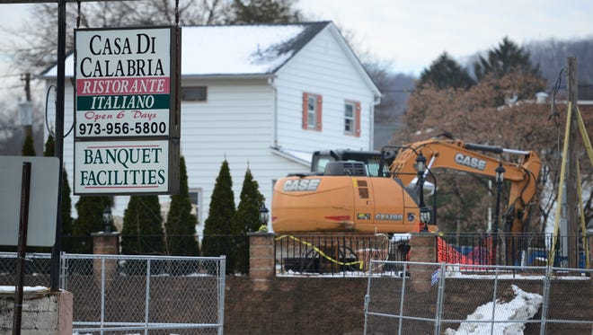Casa di Calabria in Haledon, formerly the Piedmont Restaurant, is being torn down to make way for apartments.