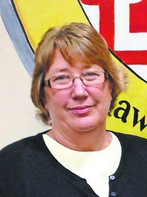 Delmar Mayor Karen Wells (left).