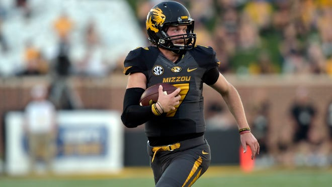 The Missouri Tigers dismissed quarterback Maty Mauk on Thursday for violating team rules.