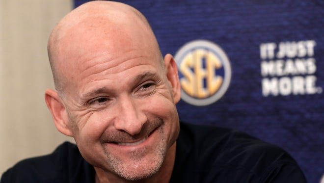 Andy Kennedy is preparing Ole Miss for its season opener against Louisiana on Friday.