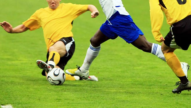 Athletes who have loose ligaments, a shallow groove for the patella (kneecap) to track, or rotational problems in their femur or tibia bones are at a higher risk of patellar dislocations.