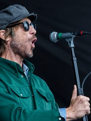 October 07, 2017 - Lead singer Todd Snider and Hard Working Americans perform during the second day of MEMPHO Music Festival at Shelby Farms Park on Saturday.