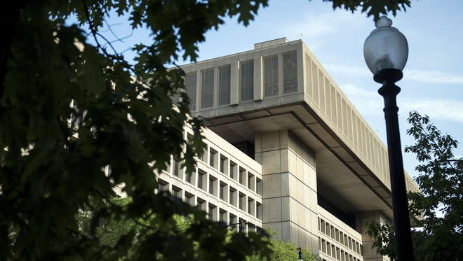 A view of the J. Edgar Hoover Building, the headquarters for the Federal Bureau of Investigation (FBI), in a May 3, 2013, file photo.