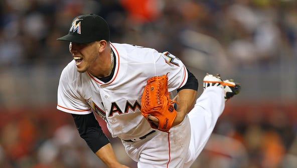 Miami Marlins starting pitcher Jose Fernandez is just one of the young pitching stars that is missing the rest of the season due to Tommy John surgery.