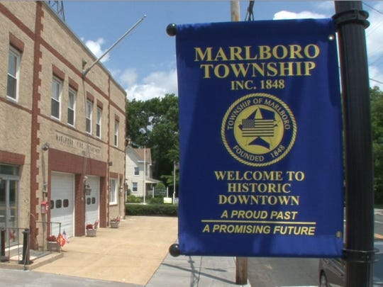 The view along North Main Street in Marlboro Township Tuesday, June 9, 2015, in front of the Marlboro Fire Department.