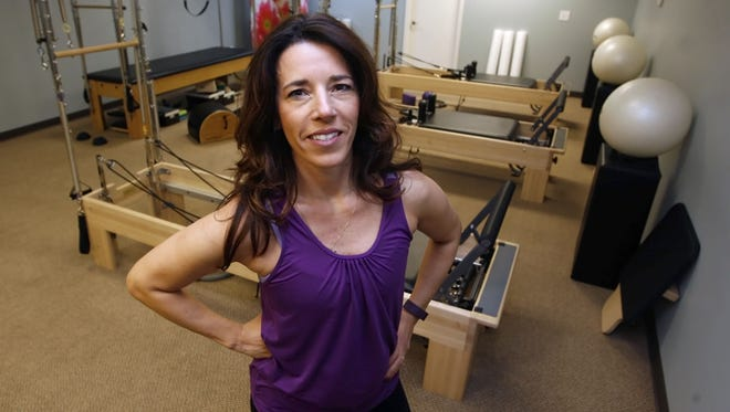 Renee' Millemann, owner and Pilates expert at Coastline Pilates in Toms River.