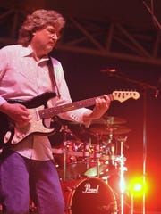 Restless Heart guitarist Greg Jennings performs in Montgomery at Jubilee City Fest on May 29, 2010.