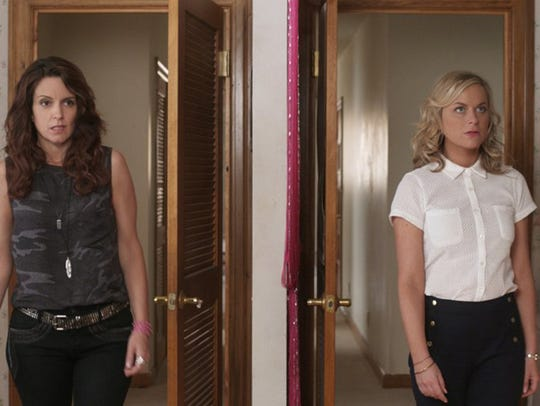 """Tina Fey and Amy Poehler in """"Sisters."""" (Universal Pictures)"""