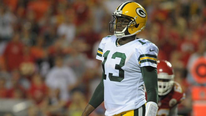Vince Young last played with the Green Bay Packers in 2013.