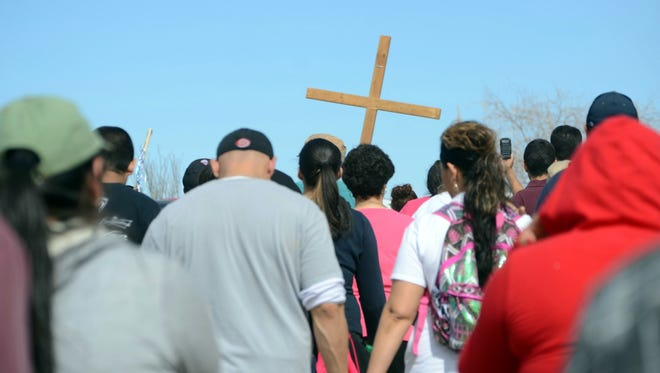 St. Ann Catholic Church will host the annual Youth Walk at 8 a.m. on Saturday. The walk will begin at the intersection of McCann and Rockhound roads and proceed to Rockhound State Park, south of Deming.