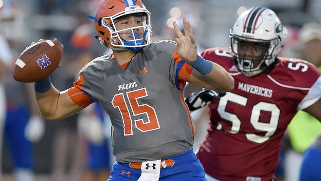 Madison Central, behind quarterback Jack Walker, will open its season Friday against visiting Meridian.