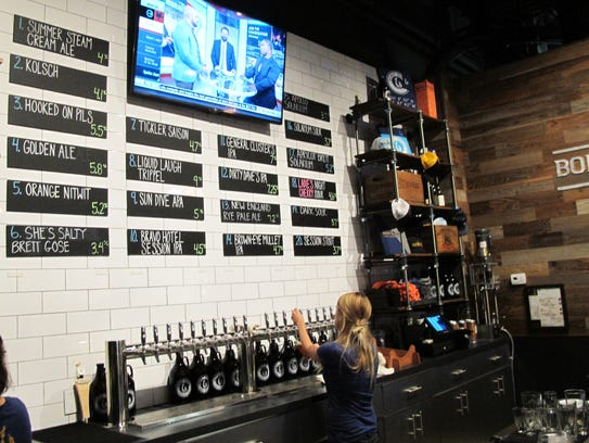 Bone Hook Brewing Co. opened the taps on its 20 craft