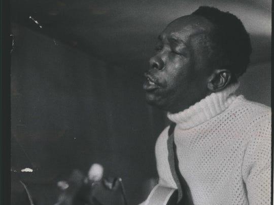 John Lee Hooker in 1968