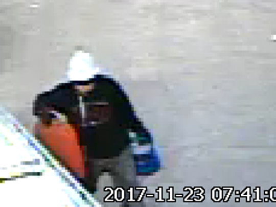 Milwaukee Police are trying to identify this man who is suspected in the theft of a Porsche and snowmobiles.