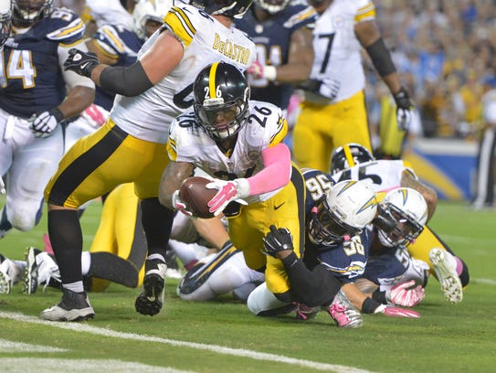Mike Vick Le Veon Bell Rally Steelers Past Chargers