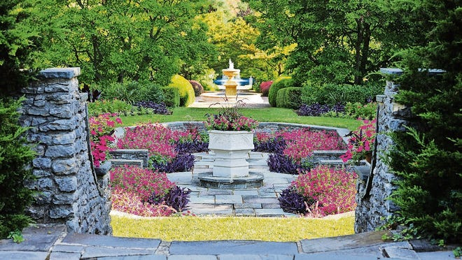 The Kingwood Center Gardens in Mansfield, Ohio offers visitors a natural oasis of flowers, trails and plants.